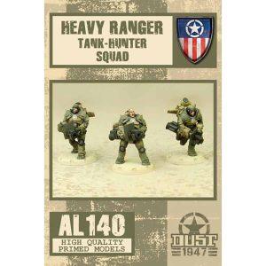 DUST 1947: Heavy Ranger Tank Hunter Squad - Primed