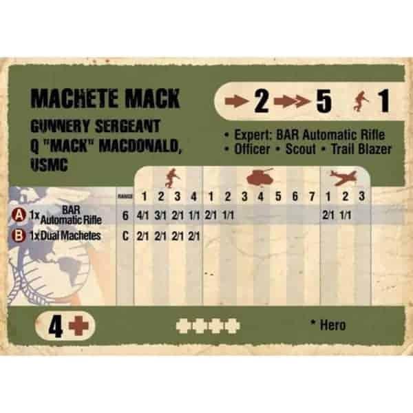 DUST 1947: ''Machete Mack'' Primed