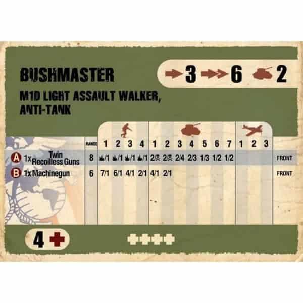 DUST 1947: ''Bushmaster'' Primed