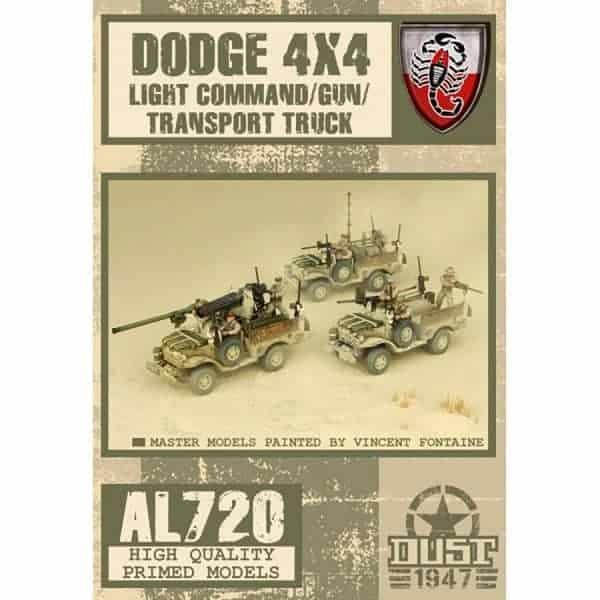 DUST 1947: Desert Scorpions Truck - Primed