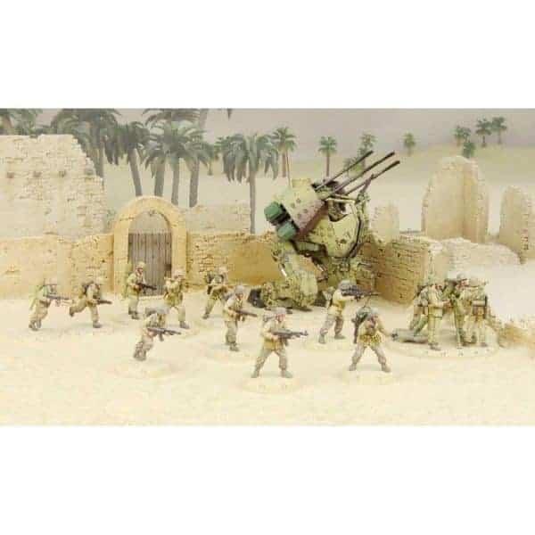 DUST 1947: NDAK Army Box - Primed