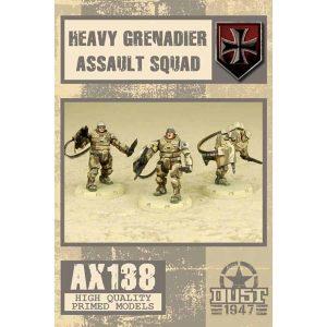 DUST 1947: Heavy Grenadier Assault Squad