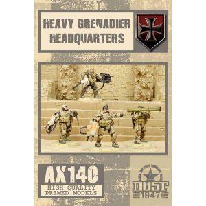 DUST 1947: Heavy Grenadier Headquarters - Primed