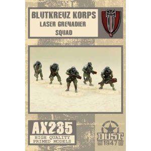 DUST 1947: Laser Grenadier Squad
