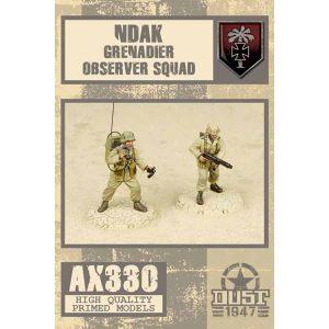 DUST 1947: NDAK Grenadier Observer Squad - Primed