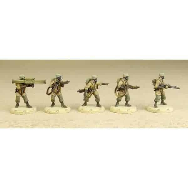 DUST 1947: Fallschirmjaeger Battle Squad - Primed