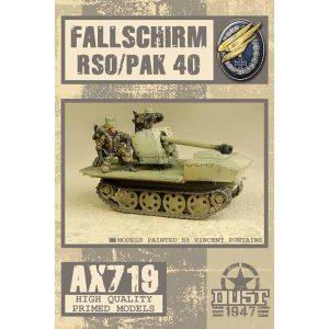 DUST 1947: Fallschirm RSO Pak 40 - Primed