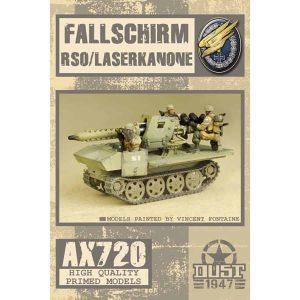 DUST 1947: Fallschirm RSO Laserkanone - Primed