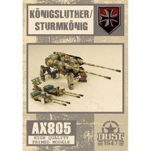 DUST 1947: Konigsluther / Sturmkonig - Primed