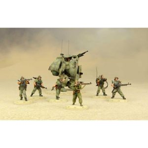 DUST 1947: Spetsnaz Starter Set - Battlegroup Roza (Primed)