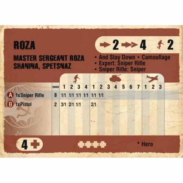 DUST 1947: Spetsnaz Starter Set - Battlegroup Roza (Primed)