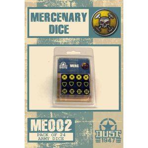 DUST 1947:  Mercenaries Dice Set