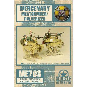 DUST 1947: Mercenary Meatgrinder/Pulverizer - Primed