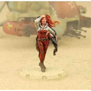 DUST 1947: ''Red Ace & The Red Star'' Primed