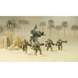 DUST 1947: Heavy Ranger Starter Set - Taskforce Rhino (Primed)