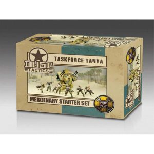 DUST 1947: Mercenary Starter Set - Taskforce Tanya  (Primed)