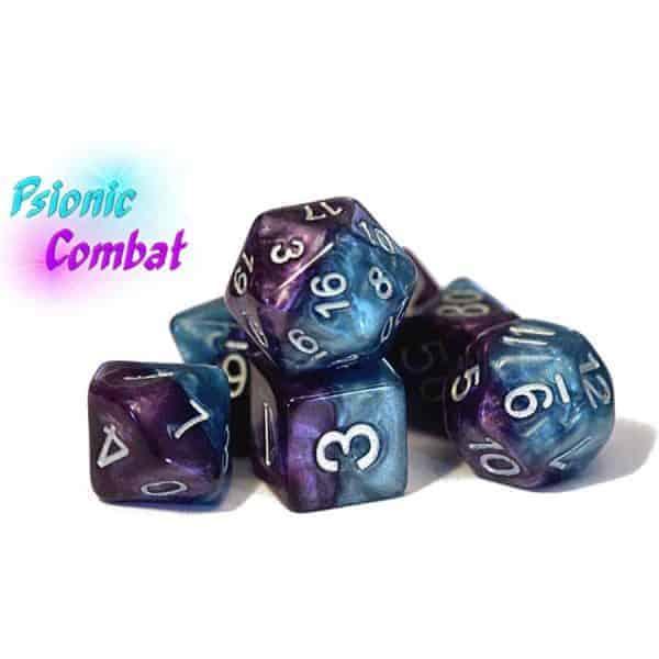 """Psionic Combat"" Halfsies - 7-Die Set"